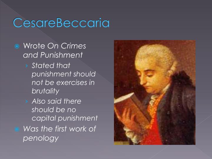 CesareBeccaria