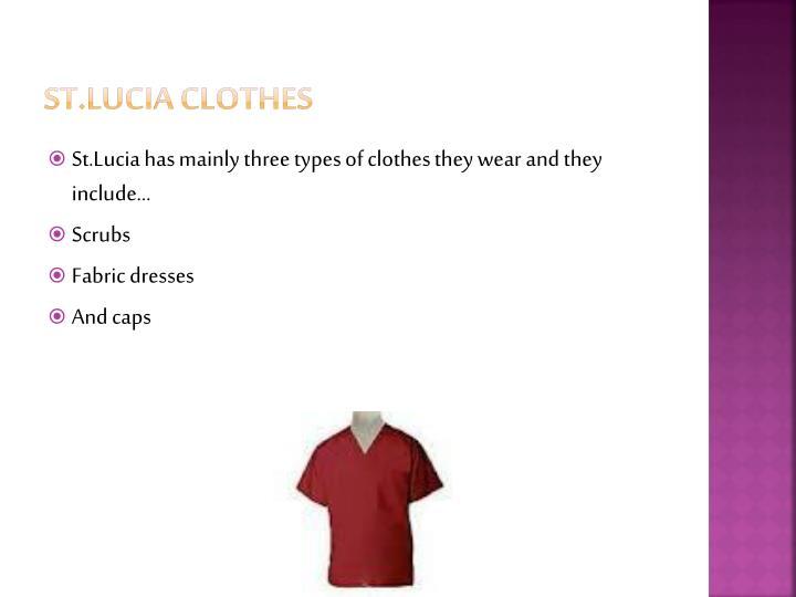 St.Lucia Clothes