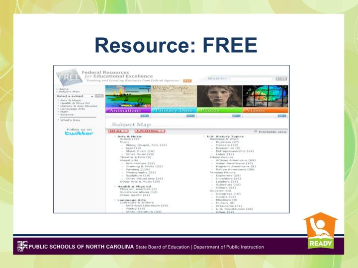 Resource: FREE