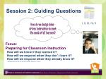 session 2 guiding questions
