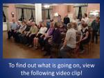 to find out what is going on view the following video clip