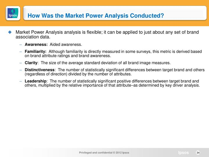 How Was the Market Power Analysis Conducted?