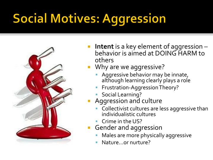 Social Motives: Aggression