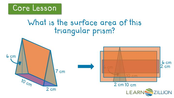 What is the surface area of this triangular prism?