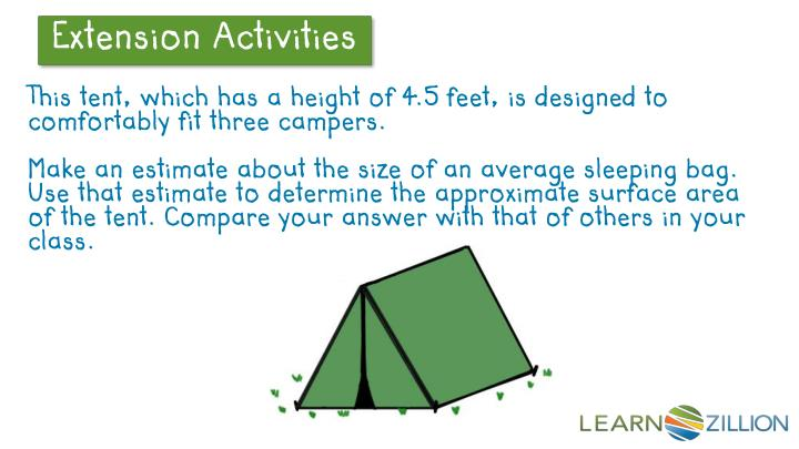 This tent, which has a height of 4.5 feet, is designed to comfortably fit three campers.
