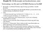 projekt t4 3d biomorphe mit insektenformen unter verwendung von xl und von nurbs fl chen in groimp