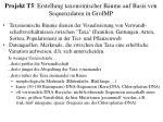 projekt t5 erstellung taxonomischer b ume auf basis von sequenzdaten in groimp