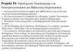 projekt t6 ontologische visualisierung von genexpressionsdaten aus makroarray experimenten