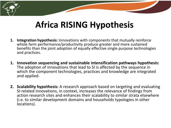 Africa rising hypothesis