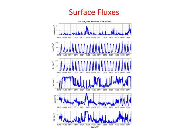 Surface Fluxes