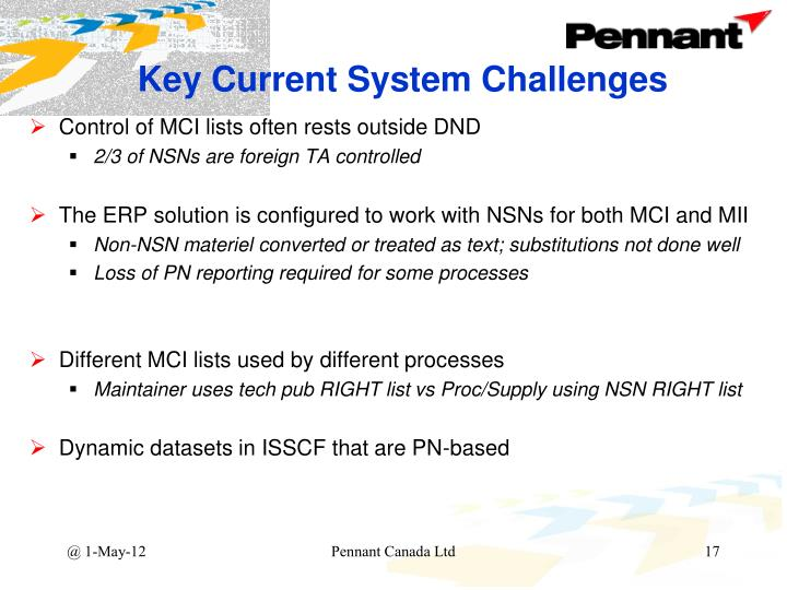 Key Current System Challenges