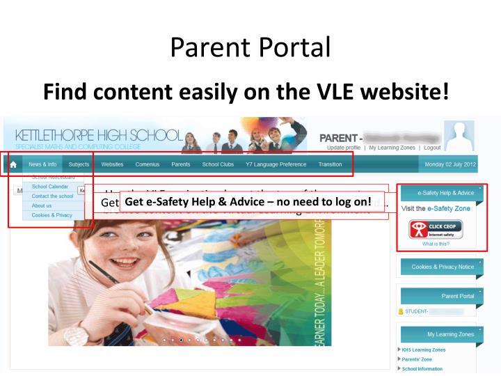 Parent Portal