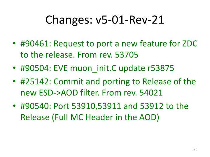Changes: v5-01-Rev-21
