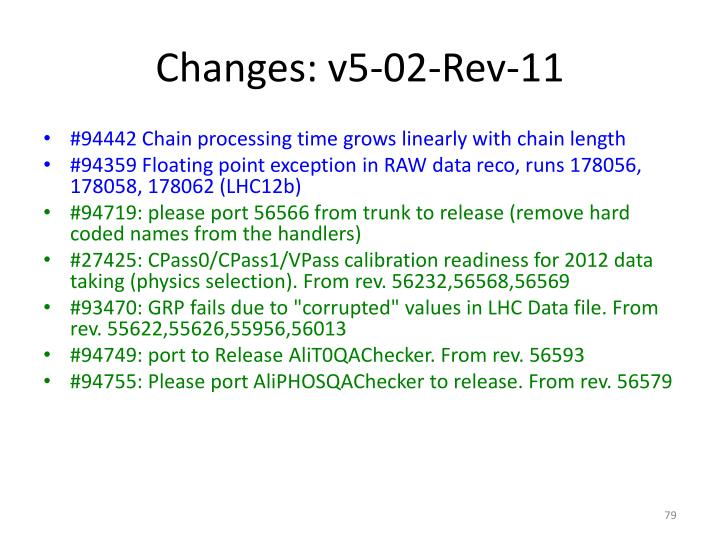 Changes: v5-02-Rev-11