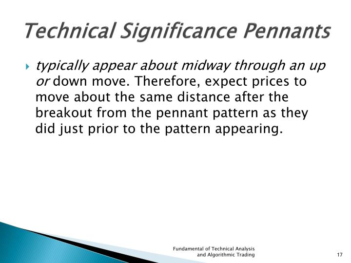 Technical Significance Pennants