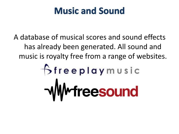 Music and Sound