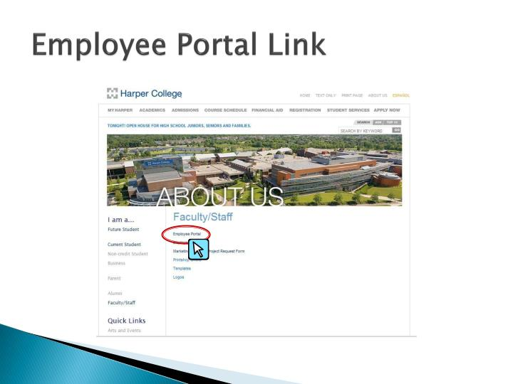 Employee Portal Link