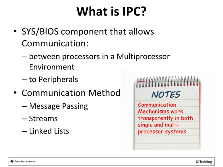What is IPC?