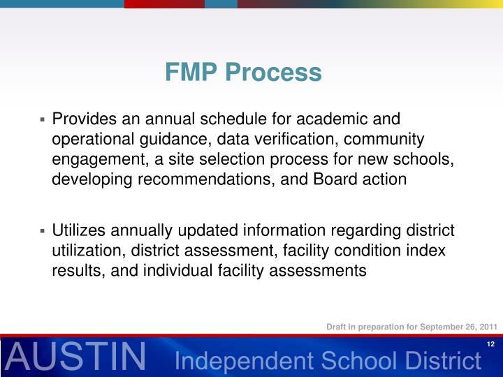 FMP Process