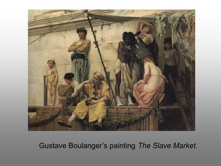 Gustave Boulanger's painting