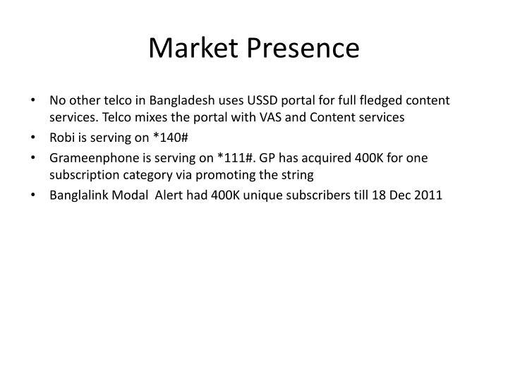 Market Presence