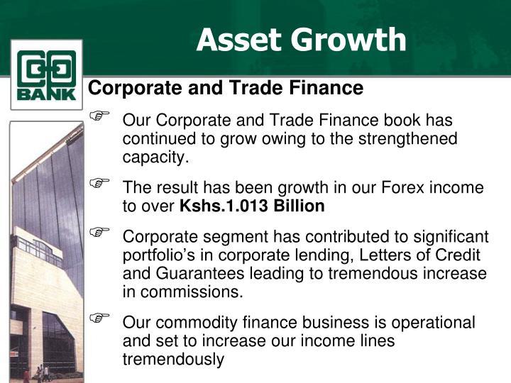 Asset Growth