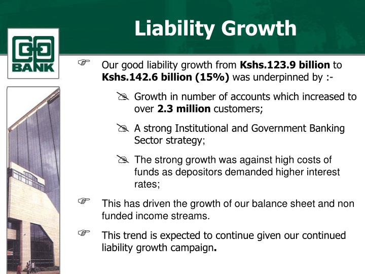 Liability Growth