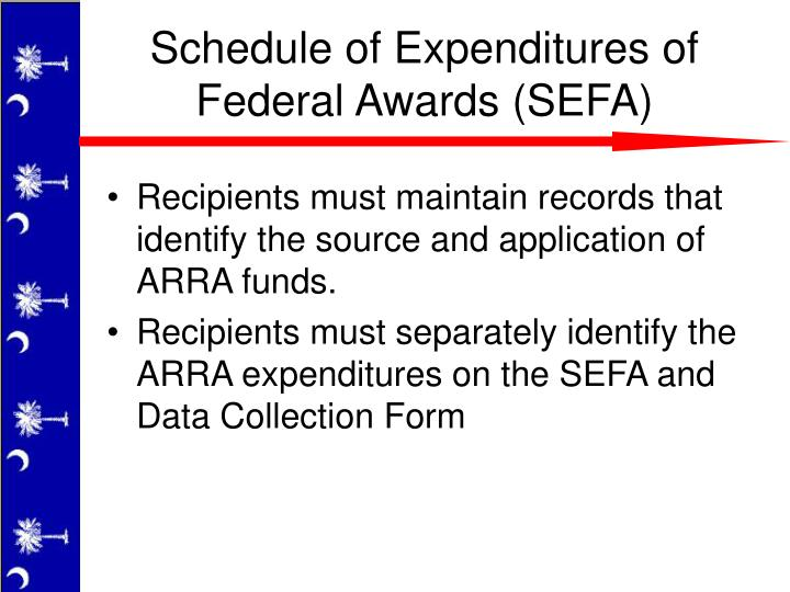 Recipients must maintain records that identify the source and application of ARRA funds.