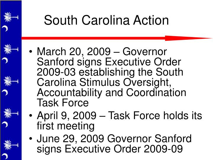 South Carolina Action