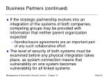 business partners continued