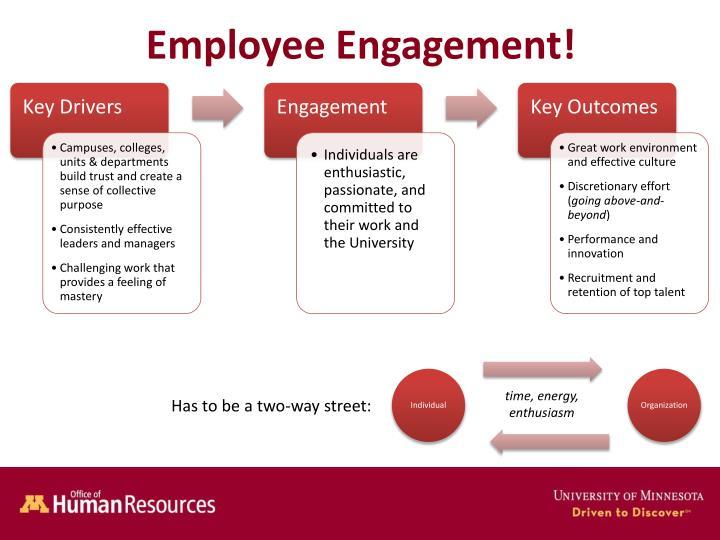 Employee Engagement!
