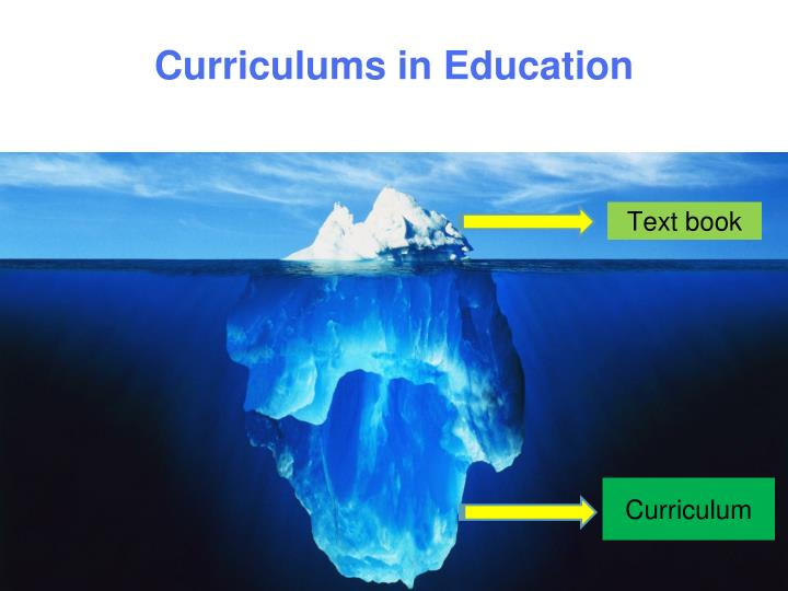 Curriculums in education