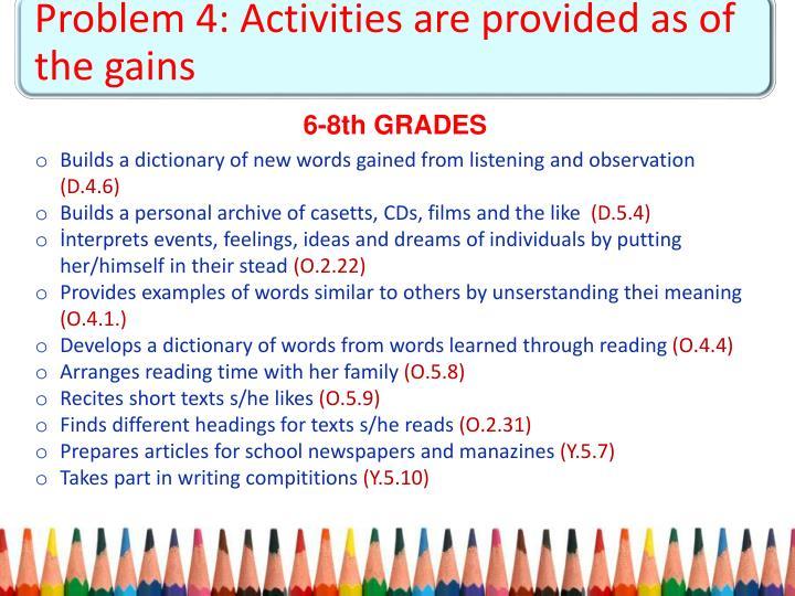 Problem 4:
