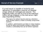 denial of service example