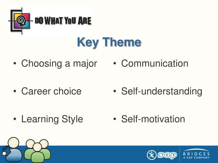 Key Theme