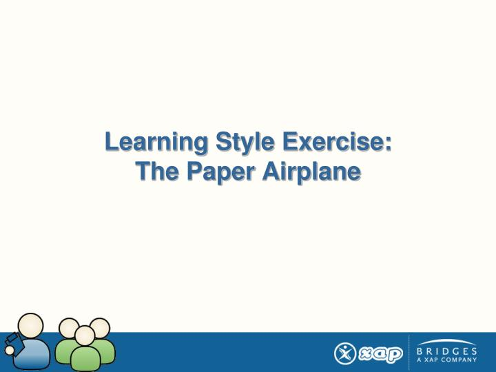 Learning Style Exercise: