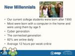 new millennials