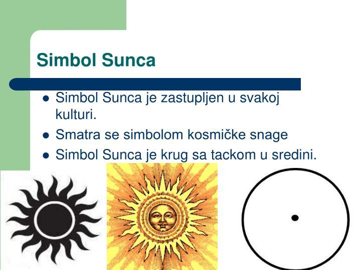 Simbol Sunca