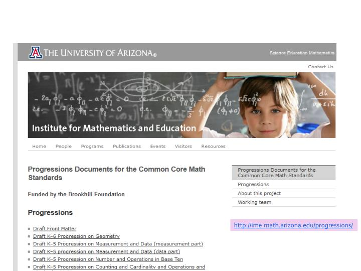 http://ime.math.arizona.edu/progressions/
