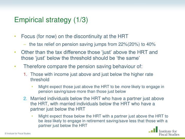 Empirical strategy (1/3)