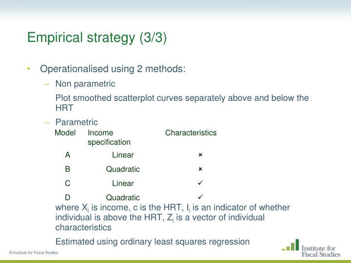 Empirical strategy (3/3)