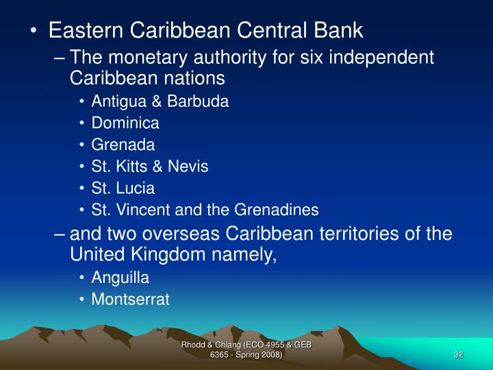 Eastern Caribbean Central Bank