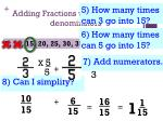 adding fractions with different denominators4