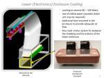 lower electronics enclosure cooling