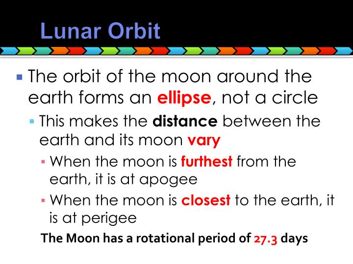 Lunar Orbit