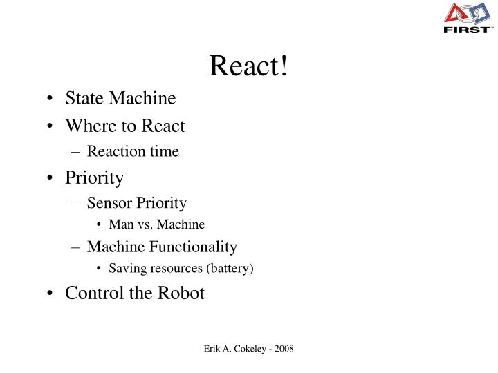 React!