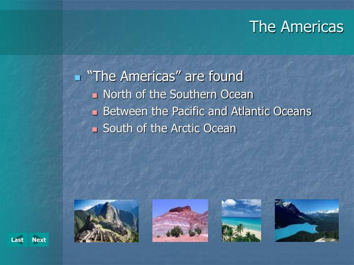 The americas2