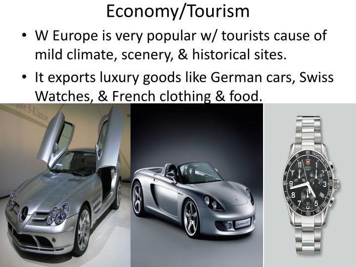 Economy/Tourism
