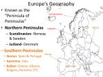 europe s geography