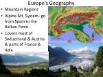 europe s geography2